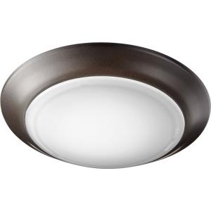 15W 1 LED Flush Mount in Quorum Home Collection style - 7.5 inches wide by 1 inches high