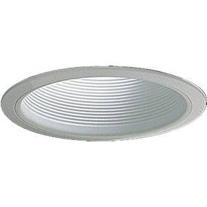 One Light Recessed Step Baffle