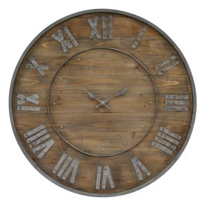 "Teatime - 24"" Round Small Clock"