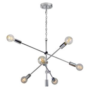 Marco De Cruz - Six Light Small Pendant