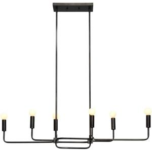 Florence - Six Light Linear Pendant