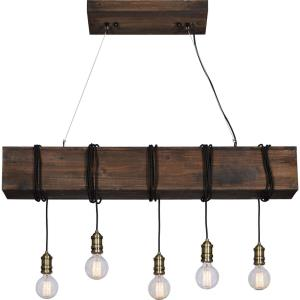 Kidarce - Five Light Medium Linear Pendant