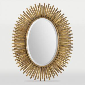 Sparta - 30.75 Inch Medium Oval Framed Mirror