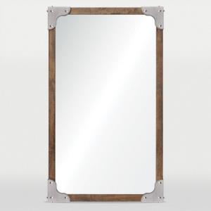 Advocate - 24 Inch Medium Rectangular Framed Mirror
