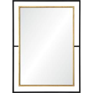 Gray - 38 Inch Rectangular Mirror