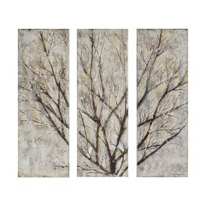 Spring Creek - 13.75 Inch Rectangular Medium Canvas Wallart