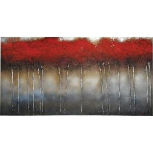 Crimson Forest - 60 Inch Decorative Canvas