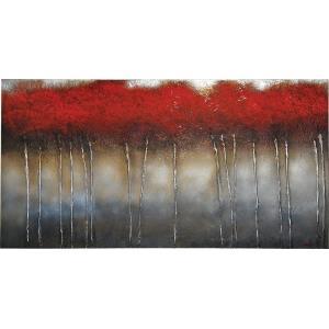 Crimson Forest - 60 Inch Decorative Canvas