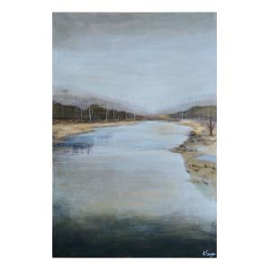 Mountain Stream - 60 Inch Large Rectangular Wall Art