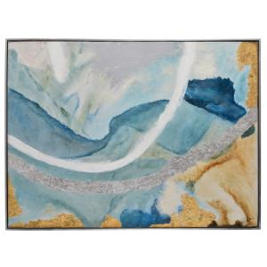 Tide Pool II - 49 Inch Rectangle Decorative Wall Art