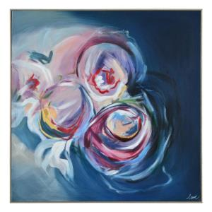 Lyra - 40 Inch Large Square Wall Art
