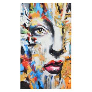 Ara - 60 Inch Large Rectangular Wall Art