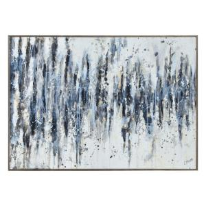 "Kombu - 45"" Large Rectangular Wall Art"