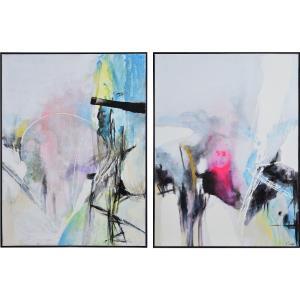 Elma - 40 Inch Canvas Art