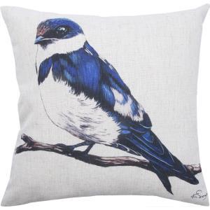 Bluebird - 20 Inch Sqaure Pillow