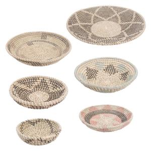 Elmina - 18 Inch Small Basket (Set of 6)