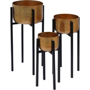 "Lebren - 10"" Small Planter (Set of 3)"