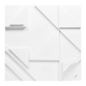 Vector I - 24 Inch Small Square Wall Decor