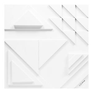 Vector II - 24 Inch Small Square Wall Decor