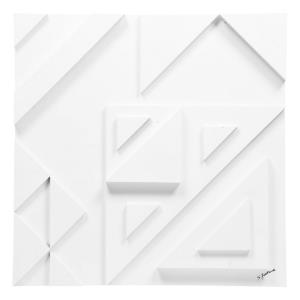 Vector III - 24 Inch Small Square Wall Decor