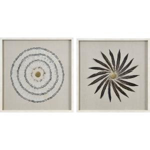 "Soleste - 30"" Square Wall Art (Set of 4)"