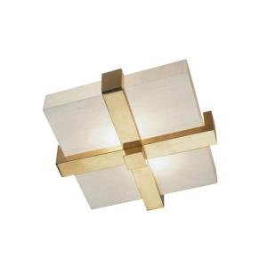 Doughnut-2 Light Flush Mount-16 Inches Wide by 6 Inches High