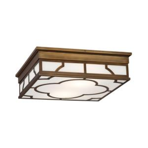 "Addison - 15.75"" Two Light Flush Mount"