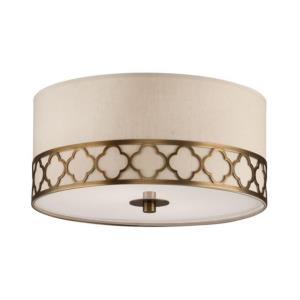 Addison - 17.63 Inch Two Light Flush Mount