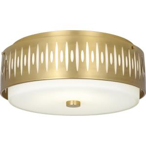 Treble-Four Light Flush Mount-20.5 Inches Wide by 8 Inches High