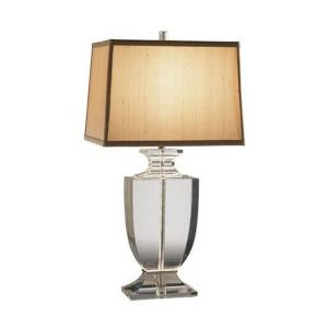 Artemis-One Light Crystal Table Lamp-6.38 Inches Wide by 24.75 Inches High
