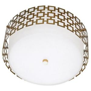 Jonathan Adler Parker-3 Light Flush Mount-15.25 Inches Wide by 7.25 Inches High