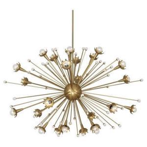 Jonathan Adler Sputnik - 48 Inch 24 Light Chandelier