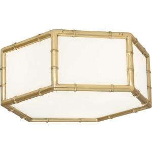 Jonathan Adler Meurice - Three Light Flush Mount