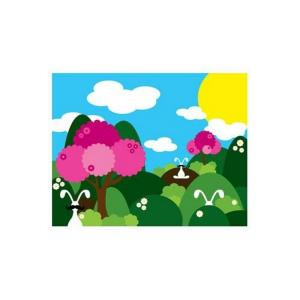 "11"" Bunny Fields Pink Wall Art"