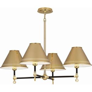 Jonathan Adler St. Germain - Four Light Chandelier