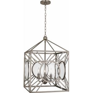 Fineas-Four Light Pendant-18 Inches Wide by 26.5 Inches High