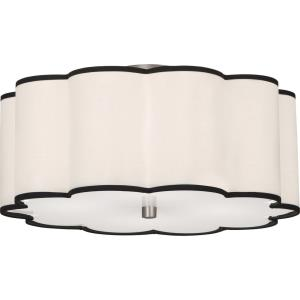 Axis-Four Light Flush Mount-20 Inches Wide by 10.38 Inches High