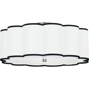Axis - 24 Inch Four Light Flush Mount