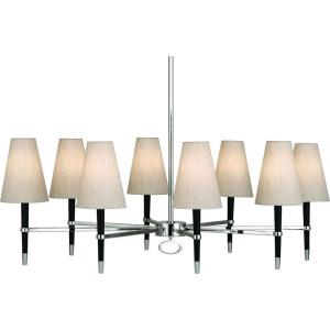 Jonathan Adler Ventana - Eight Light Oval Chandelier