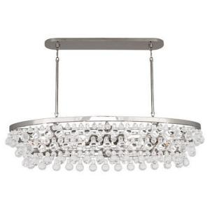 Bling - Eight Light Oval Chandelier
