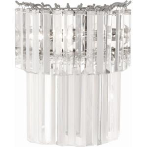 Spectrum - Two Light Half Round Wall Sconce