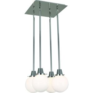 Rico Espinet Buster - Four Light Globe Quad Pendant
