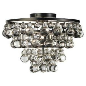 Bling - Two Light Flush Mount