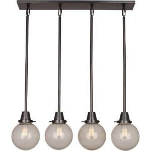 Rico Espinet Tyler - Four Light Flush Globe Mount