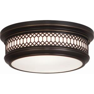 Williamsburg Tucker - Two Light Flush Mount