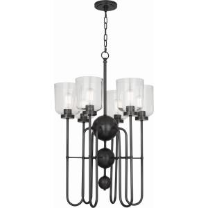 Williamsburg Tyrie - Six Light Chandelier