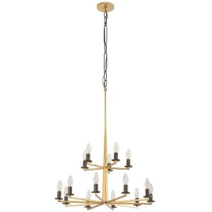 Elwood - Fifteen Light 2-Tier Chandelier