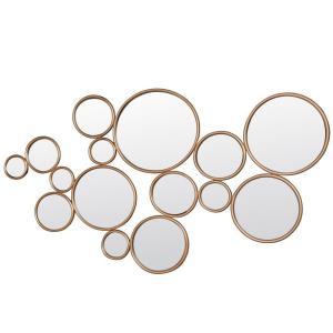 """Framed Circles - 52"""" Mirror"""