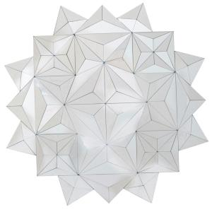 3D Facets - 42.5 Inch Mirror