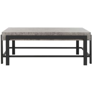 Oliver - 43.3 Inch Rectangular Contemporary Coffee Table